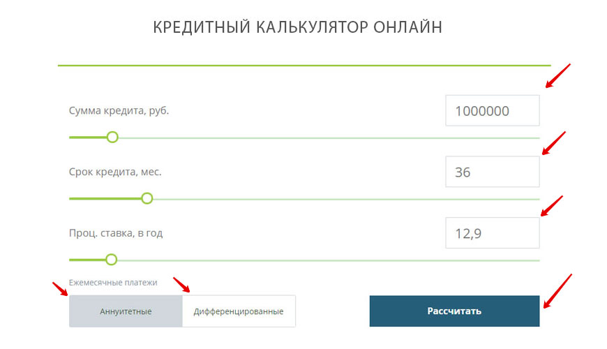 кредитный калькулятор райффайзен банка карта от альфа банка отзывы